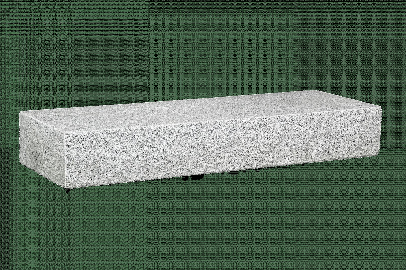 100x35x15 Graniet Wit Traptrede Natuursteen