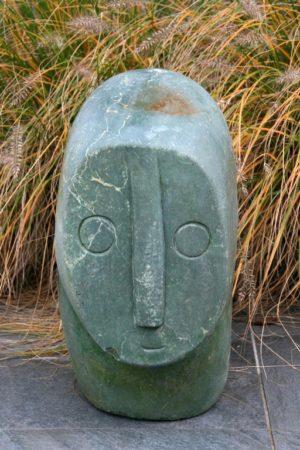 Natuursteen Afrikaans Beeld, hoogte 47 cm