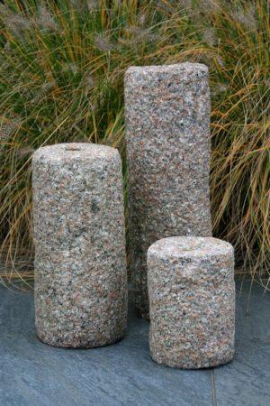 """Natuursteen waterpartij """"Tripple Cylinder"""", 20-35-50 cm"""