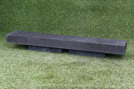 OudHollandse afdekplaat/opsluitband 6x20x100 cm Antraciet