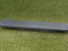 Basalt gezoet afdekplaat 3x20x100 cm