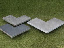 Hoekstuk Chinees Hardsteen 30 cm breedt