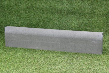 Gazonband 10x20x100 cm grijs