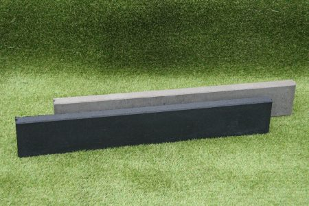 Opsluitband 5x15x100 cm zwart en grijs