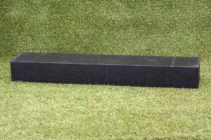 OudHollandse stapelblok 12x20x100 cm zwart