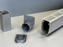 Drain System Watergoot, lengte 120 cm PVC/Aluminium