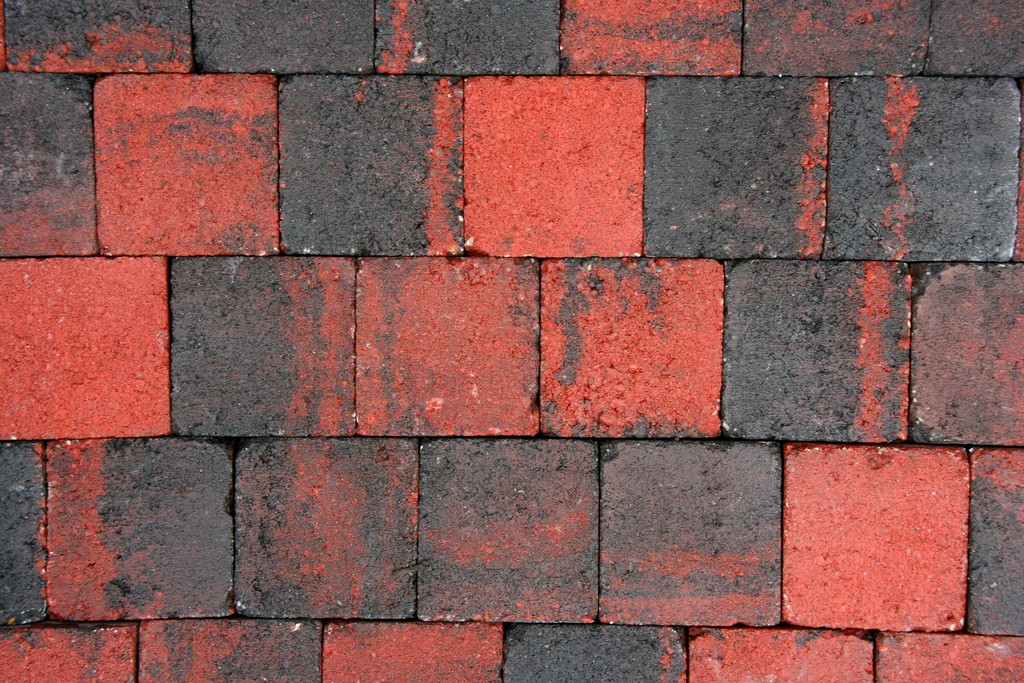 Tumbelton Cobblestones Ruby Black