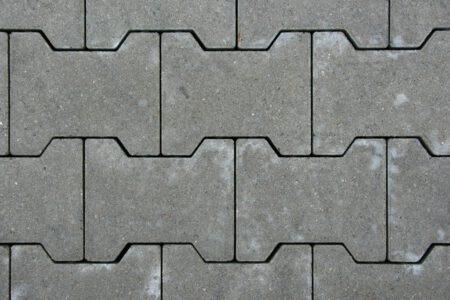 H-profiel klinkers grijs, 8 of 10 cm dik