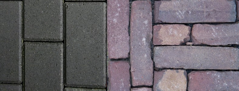 verschil tussen beton en gebakken klinker