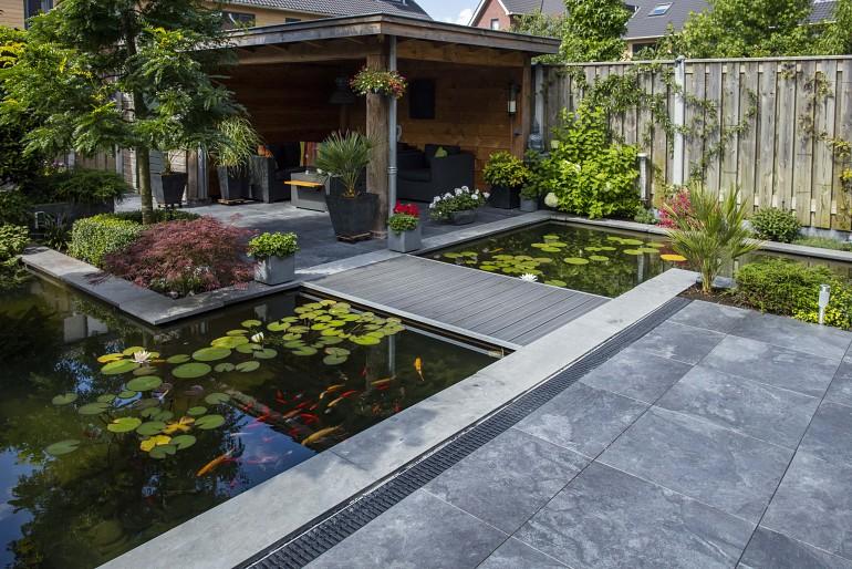 Moderne tuin inpiratie