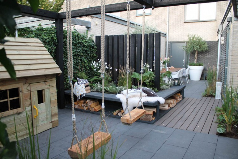 Moderne tuin inspiratie (10)