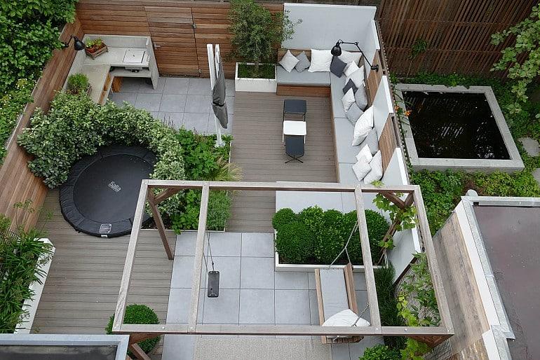 Moderne tuin inspiratie (7)