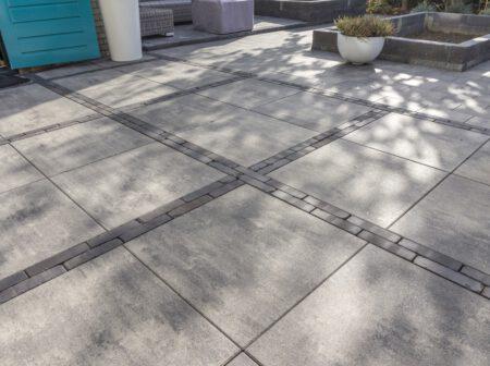 Smartton Linea Redsun betontegel