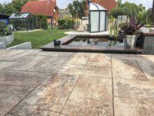 Smartton SE Redsun betontegel