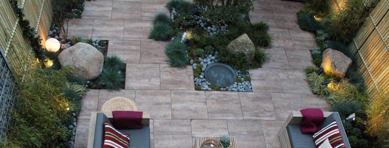 Onderhoudsarme natuurlijke tuin